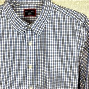 UNTUCKit Wrinkle Free Gingham Casual Button Shirt